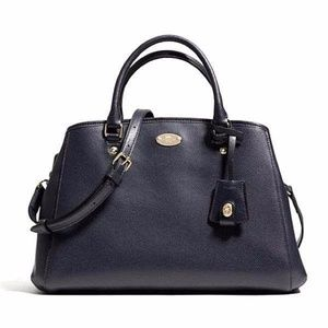 Coach Margot Carryall in Crossgrain Leather